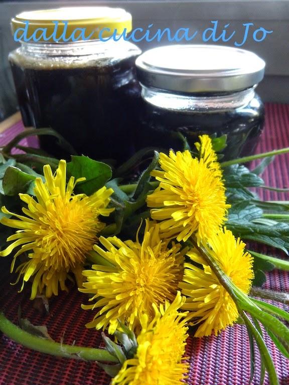 gelatina o miele di taràssaco