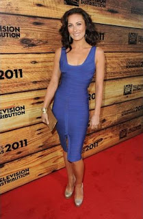 Celebrities Bandage Dresses, Laura Benanti Bandage Dresses Pics