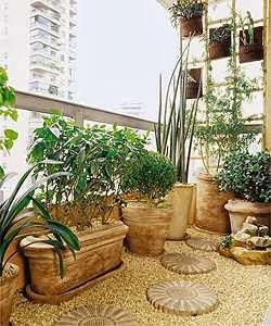 Paisagismo e jardinagem em pequenos espaços