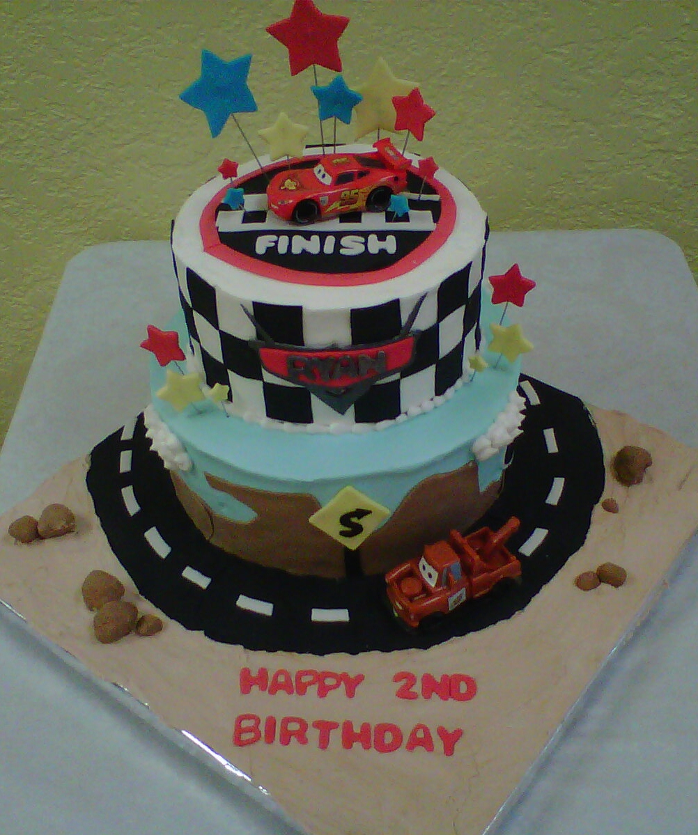 Images Of Cars Birthday Cake : Blanca s Cakery: A Cars Birthday Cake!