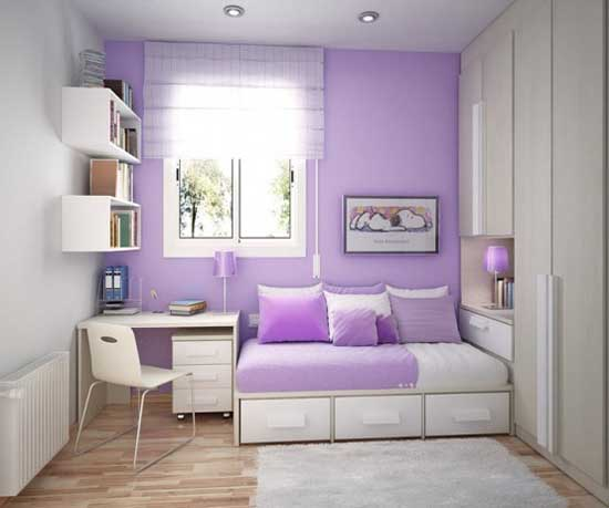 Violet Teen Interior Design Inspiration