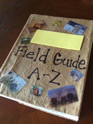how to make a field guide