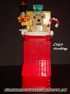 LEGO Christmas Stocking