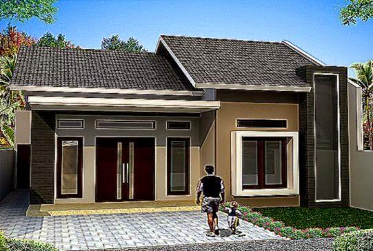 Gambar Desain Bentuk Rumah Sederhana Minimalis   Propertif