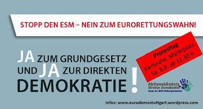 Einladung zur Anti-ESM-Großkundgebung am 8.9.12 in Karlsruhe