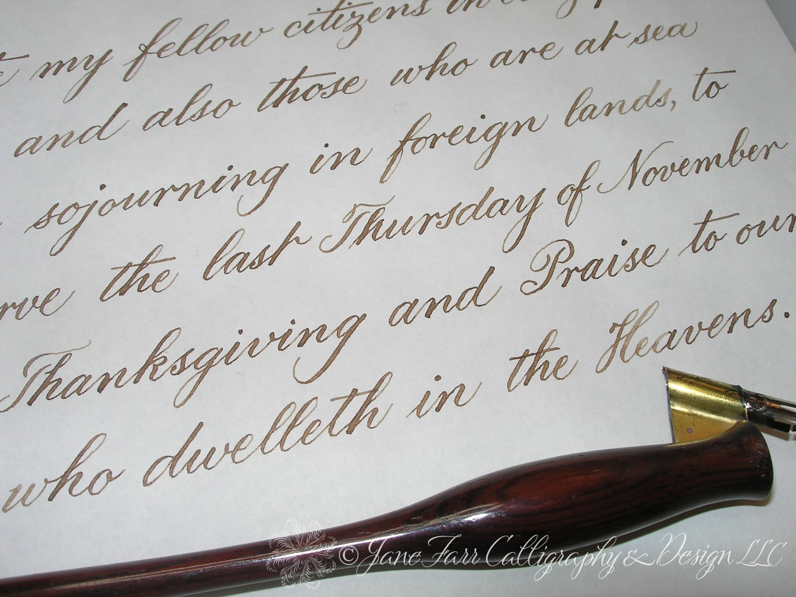 A Place To Flourish Calligraphy Flourish Friday Abraham