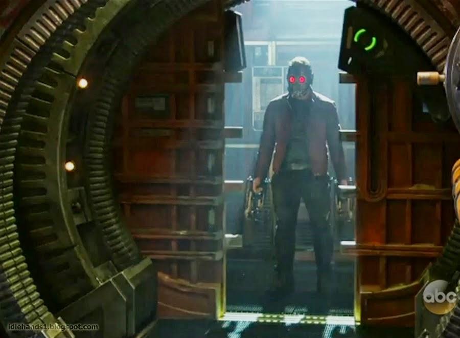 """StarLord en """"Guardianes de la Galaxia"""""""