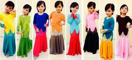 Ready Stock Dress Lace Sedondon Ibu Dan Anak Now Available. Baru Meriah Raya Nanti.
