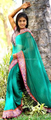 Radhika reddy stills in saree
