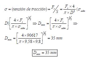 Ejercicio resuelto de Fluidos estatica ejercicio 2 formula 3