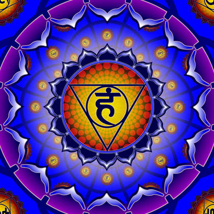 Throat Chakra Healing Music ❯ EXT. POWERFUL ❯  MBIRAA WAVES ❯ Throat-chakra-symbol-vishuddha