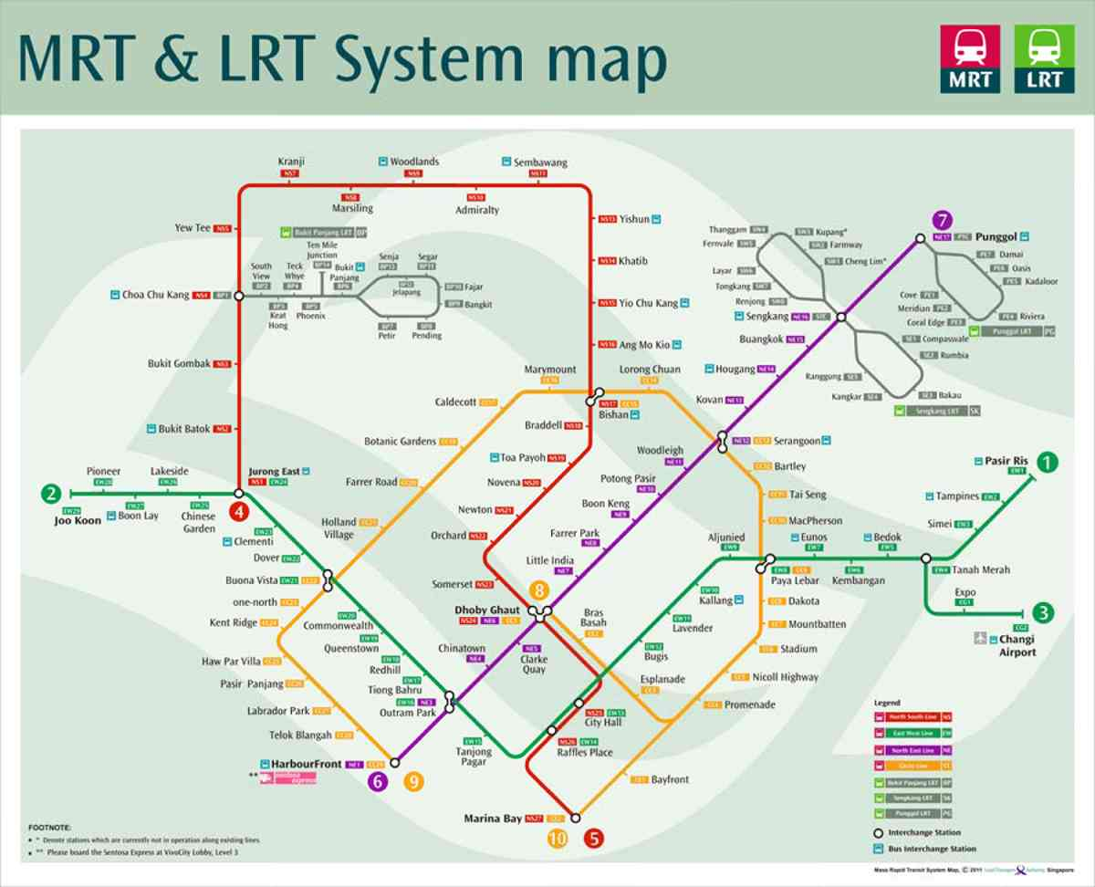 Célèbre InternSing: Le métro à Singapour : un exemple à suivre ? PT92