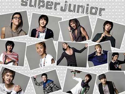 Super Junior Boyband Korea Paling Populer