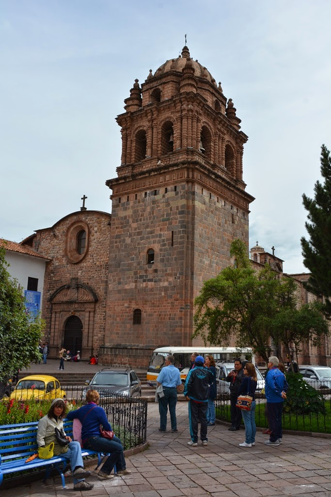 General Impressions of Cusco church