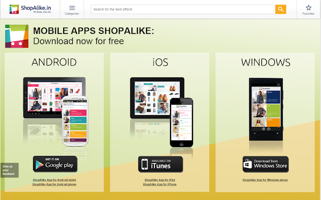 http://www.shopalike.in/apps.html