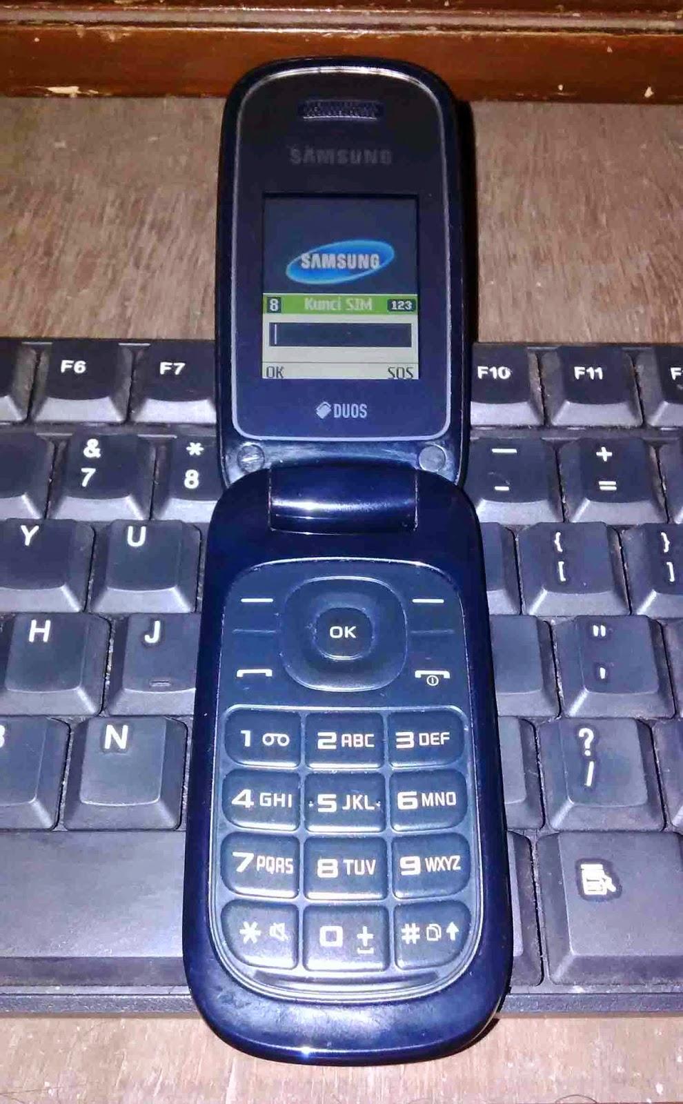 Cara Flash Samsung E1272