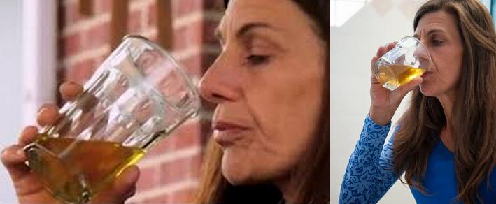 Minum Air Kencing Tiap Hari Resep Wanita ini Untuk Selalu Cantik Hueks