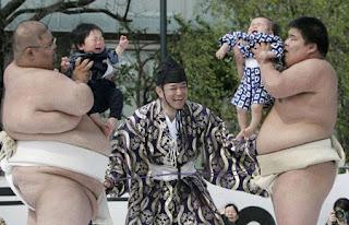Naki Sumo, Festival Balita Menangis di Jepang