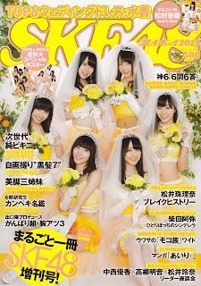 SKE48 x Weekly Playboy 週刊プレイボーイ 2013 cover