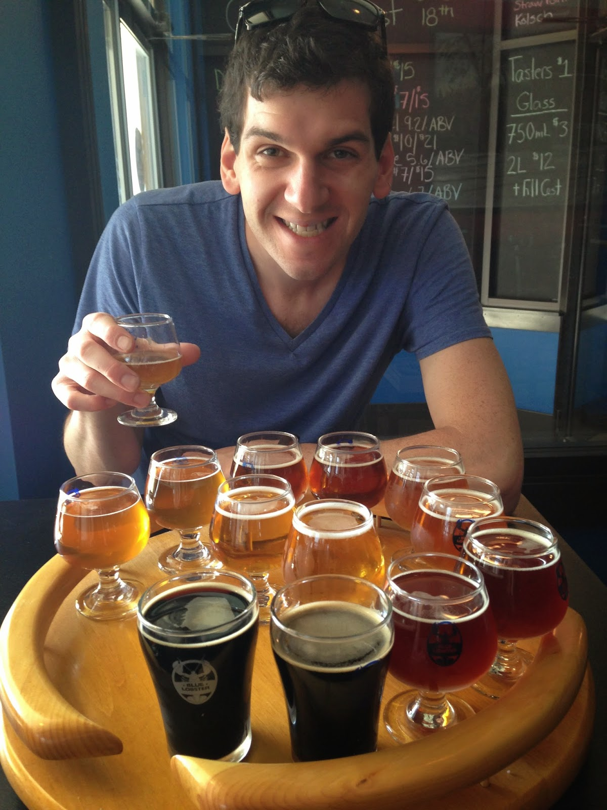 Blue Lobster Brewing in Hampton, NH | The Economical Eater