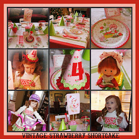 Vintage Strawberry Shortcake Party