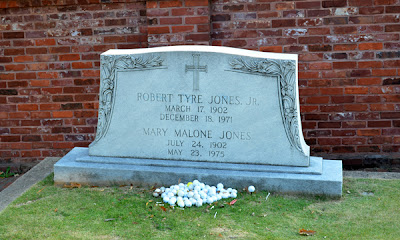Historic Oakland Cemetery, Golf Legend Bobby Jones