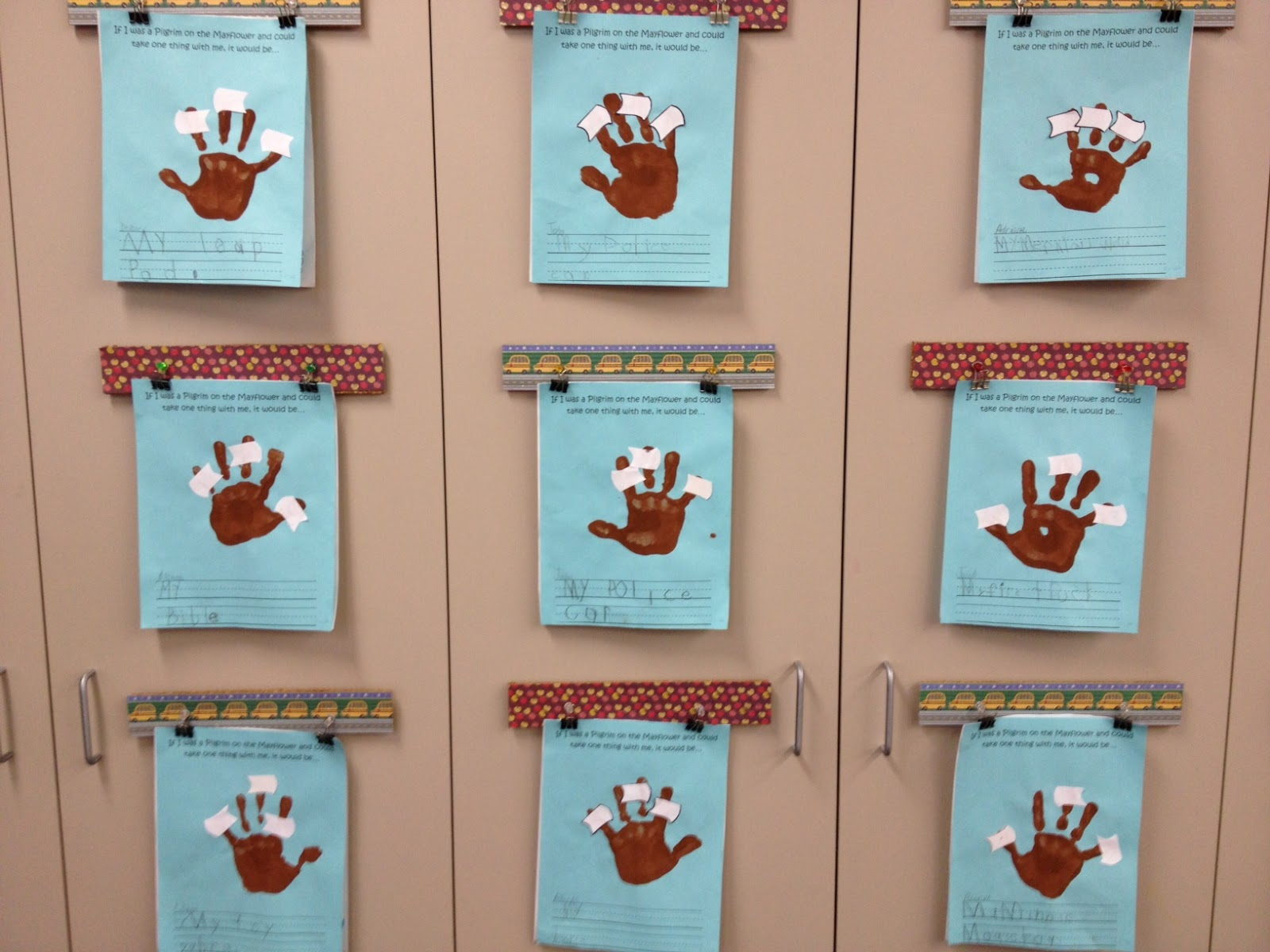 Thanksgiving Class Feast! and a linky... - Apples and ABC\'s