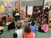 Lamarand, a former high school teacher, read to both classes and answered .