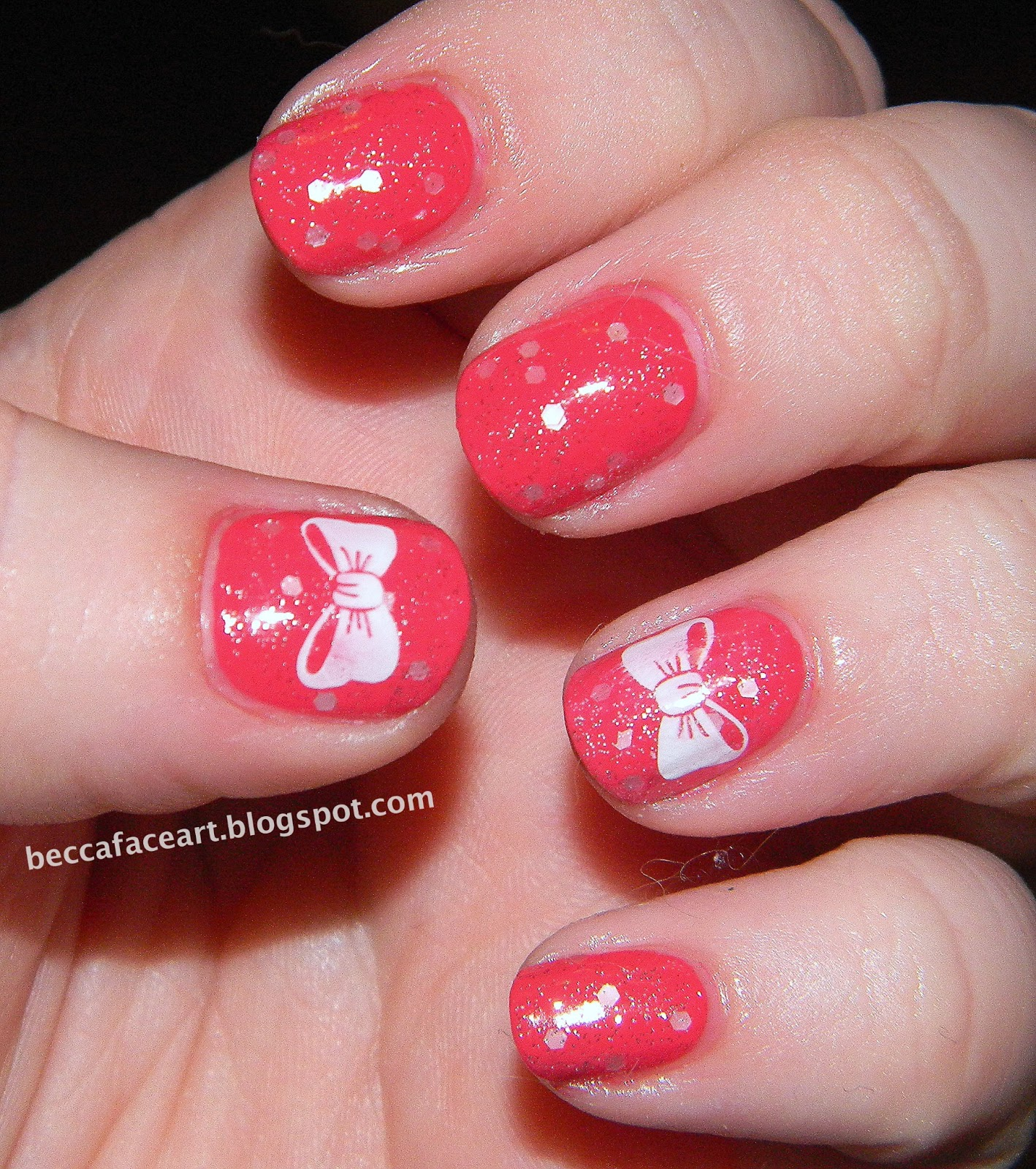 cute nails with bows hot girls wallpaper