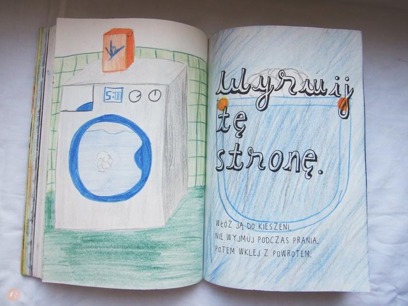 Blonparia: Zniszcz ten dziennik - malowanie tasma