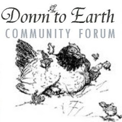 You&#39;re invited to join the Down to Earth Forum
