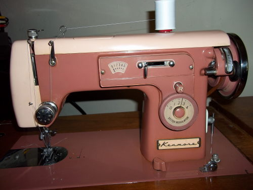 Thin Man Sewing Vintage Kenmore Decorative Stitching Extraordinary Kenmore Sewing Machine Vintage
