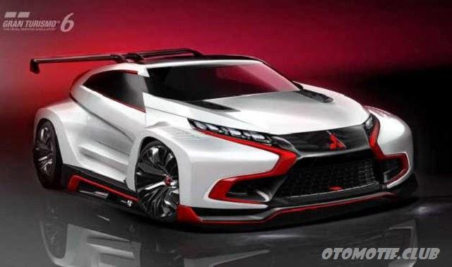 Gambar Mitsubishi XR-PHEV Evolution Gran Turismo