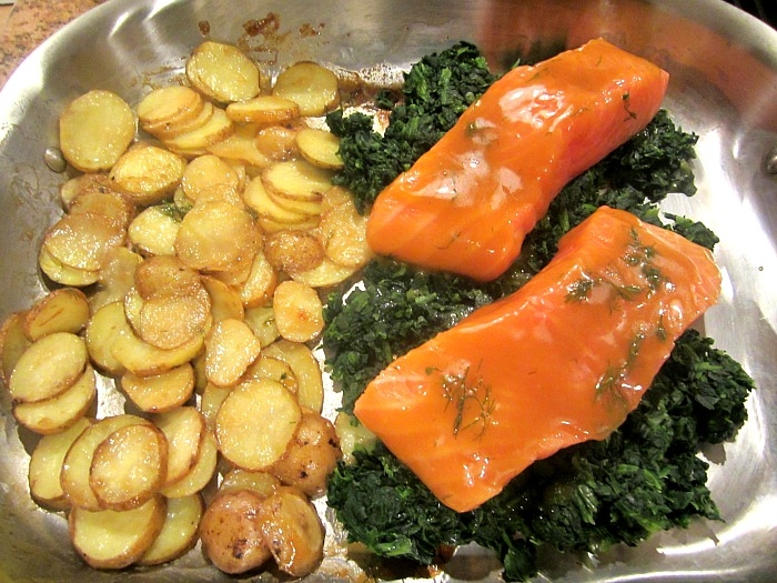 ... Snacks: What's for Dinner? Mustard & Brown Sugar Glazed Salmon w/...