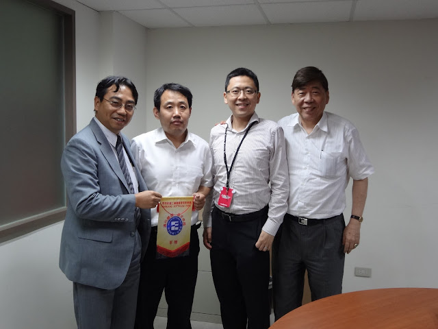 山東省浪潮齊魯軟件產業公司參訪