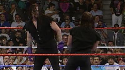 WWF SummerSlam 1994 Undertaker vs Imposter Undertaker Main Event Stare