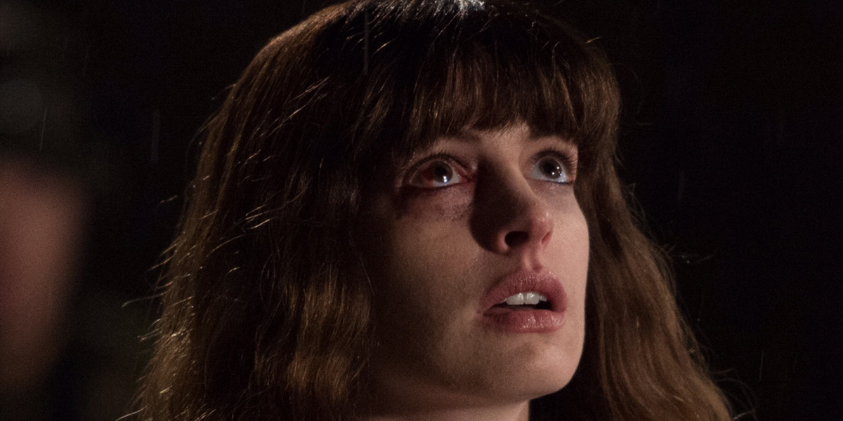 Anna Hathaway and Jason Sudeikis for COLOSSAL [Interview]