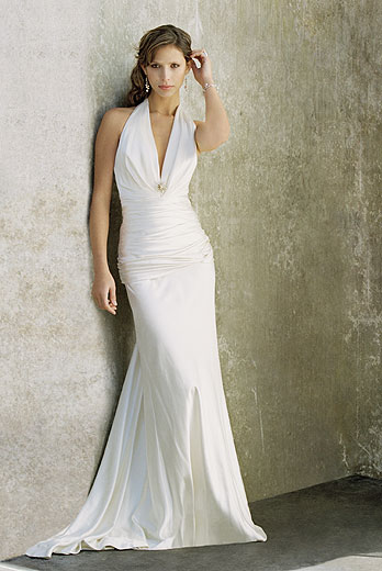 simple bridal wedding gowns pictures