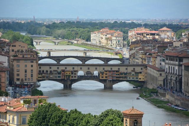 Piazzale Michelangelo Florence Ponte Vecchio
