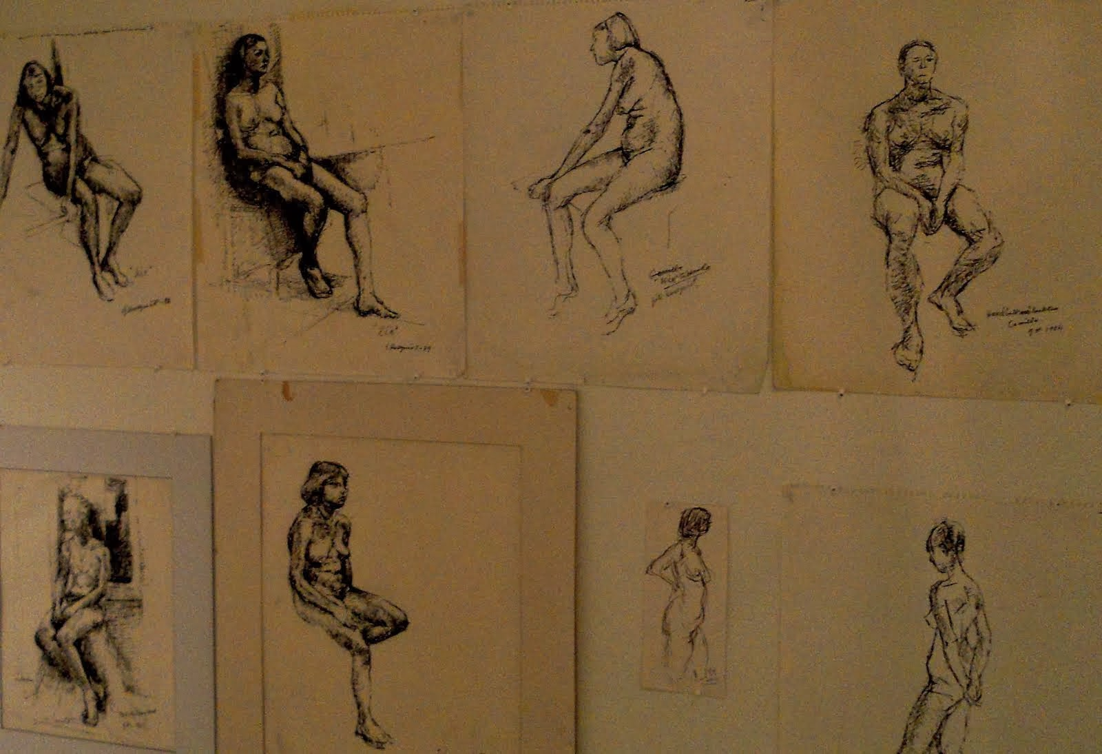 Utställning Nr 2 - MODELLERNA  - Göte Hultqvist