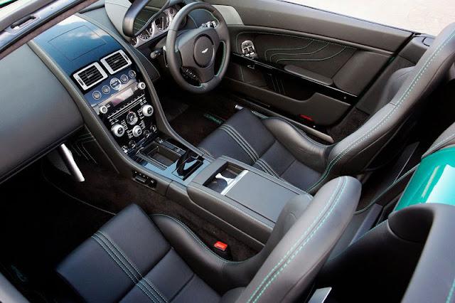 2012 Aston Martin V8 Vantage S Roadster Interior