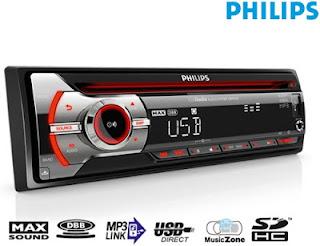 Radio samochodowe Philips CD z Biedronki