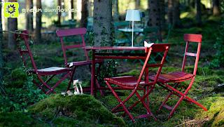 Green Sun Flower furniture