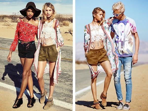 H&M coleção moda jovem Loves Coachella