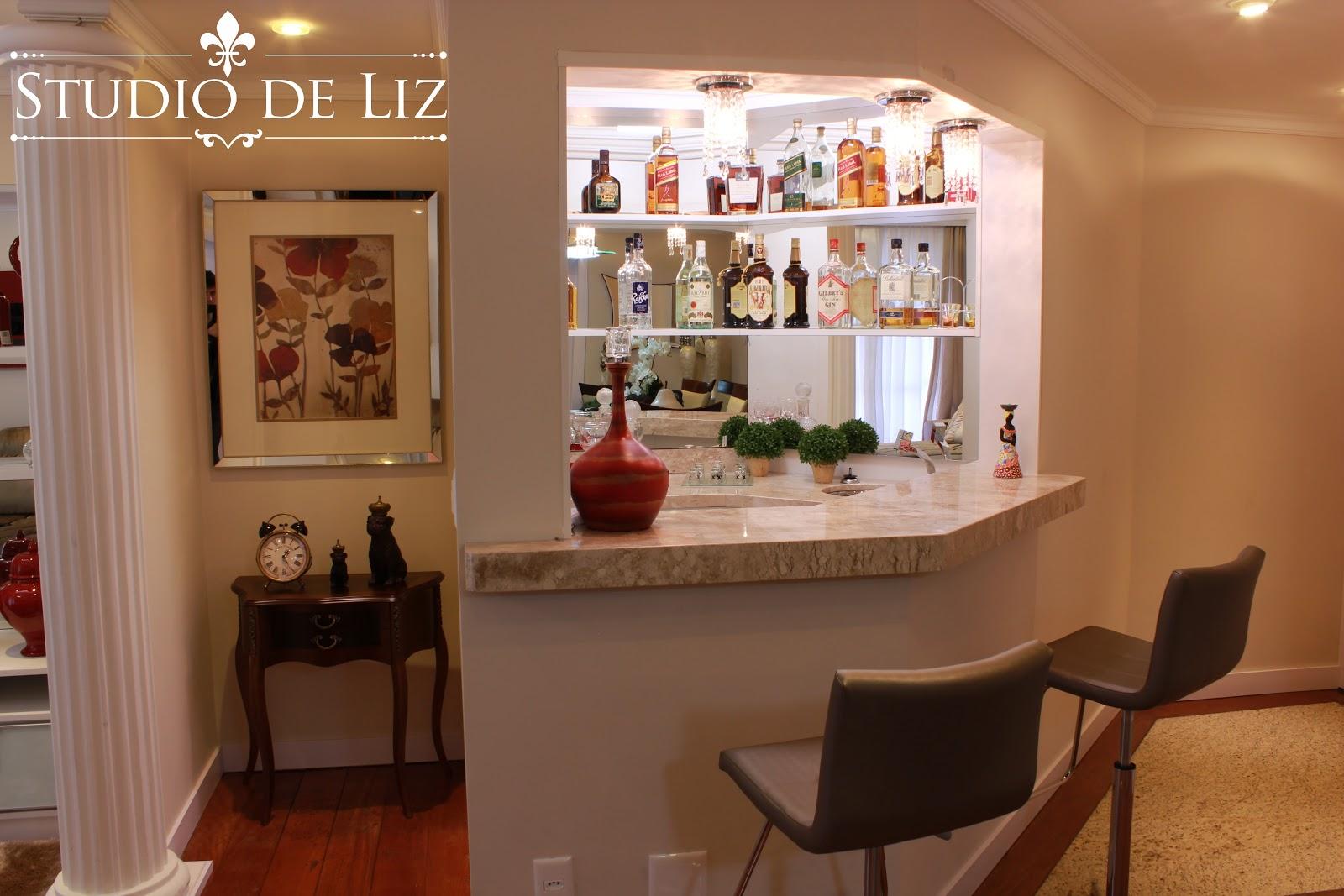 #A03D2B Studio de Liz Decoração de Ambientes Projeto móveis sob medida 1600x1067 píxeis em Decoração De Sala De Tv Com Bar