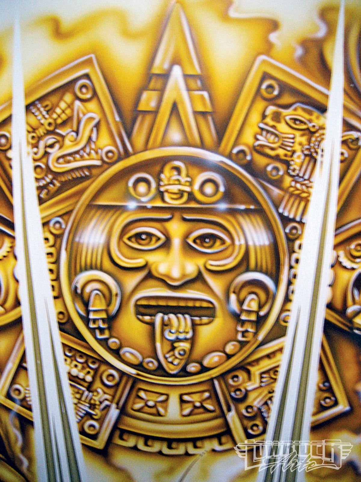 Ancient Aztec Paintings - Houses Plans - Designs