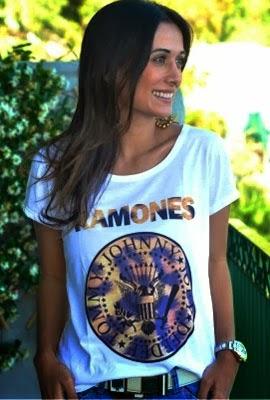 T-shirts Lulys Tees Ramones