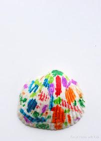 Melted Crayon Sea Shells