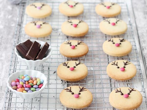 Rudolph Reindeer cookies