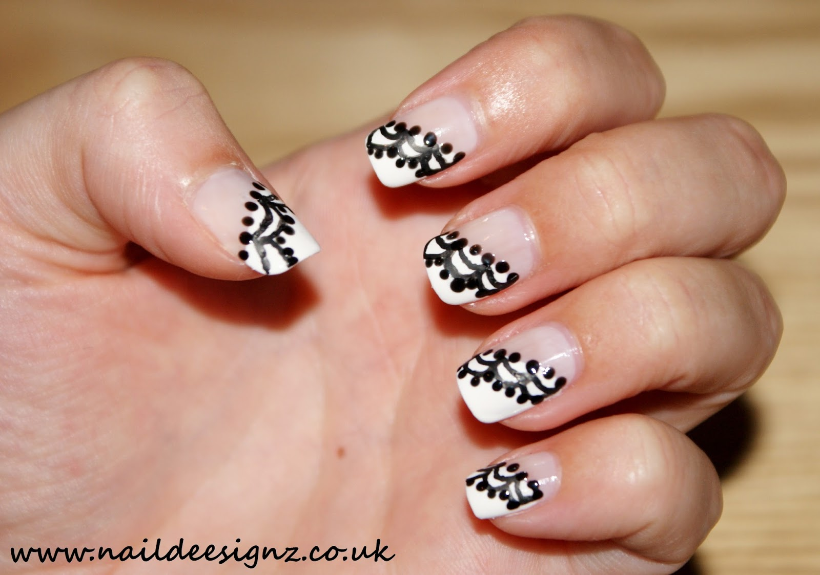 Christines Nail Designs Easy Nail Designs For Short Nails French